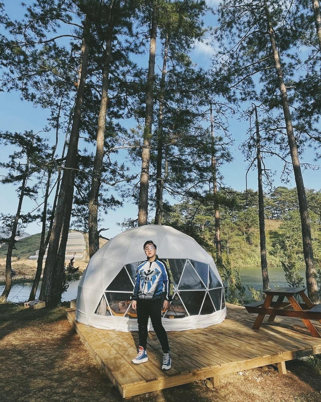 Revealing coordinates of super chill camping in Da Lat during Toc Tien's picnic - Photo 3