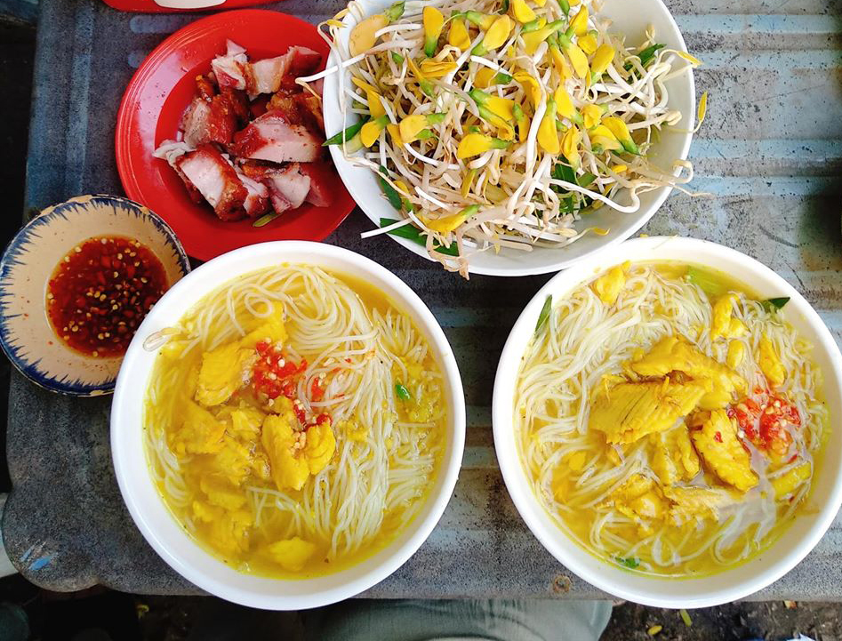 Chau Doc fish vermicelli - a specialty of the West - Photo 1